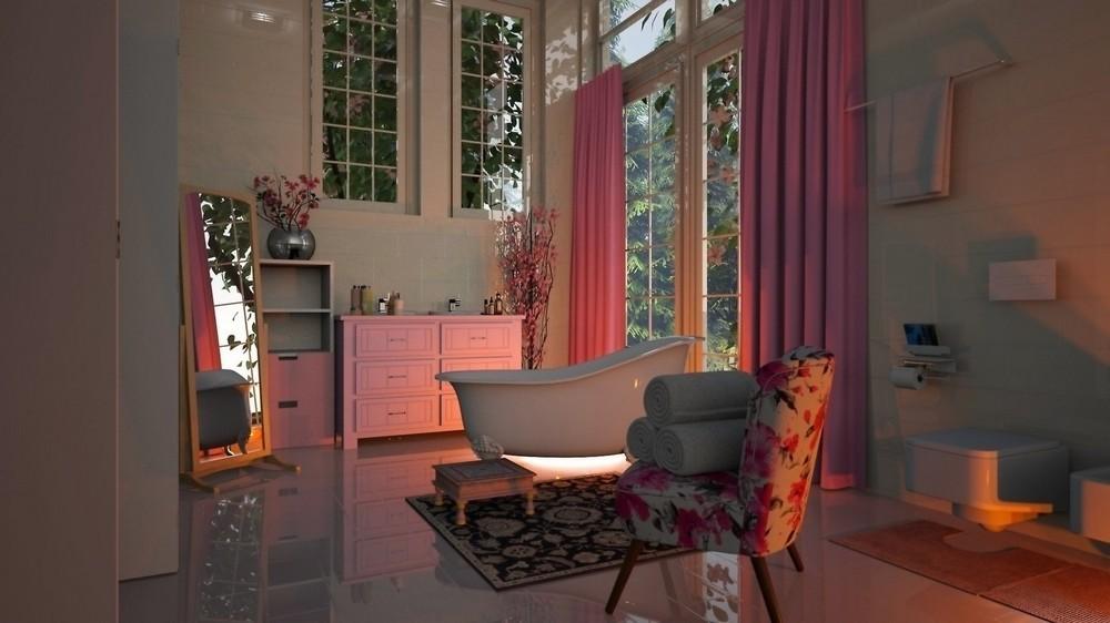 geamuri vopsite zona Vatra Luminoasă